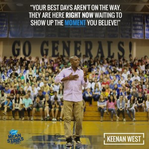 Keenan Speaking