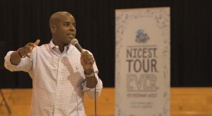Keenan West Kicks Off Secret's Mean Stinks Anti-Bullying Tour
