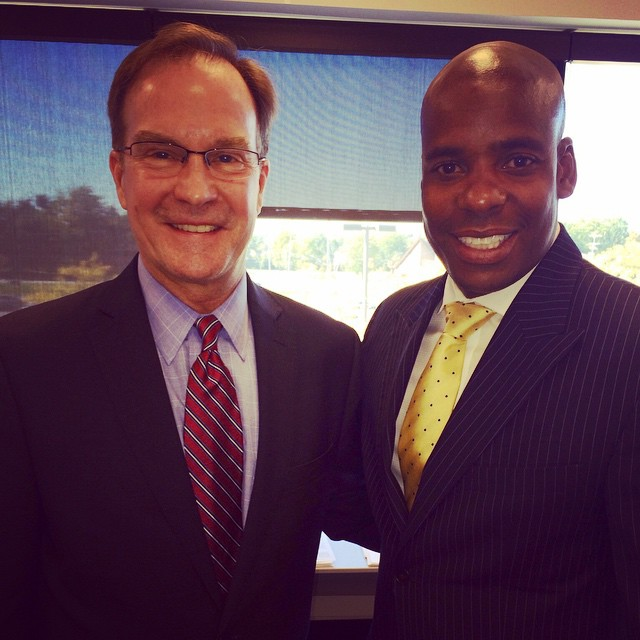 Young World: Meet my friend from Michigan! His name is Mr. Schuette and he is the Attorney General for the state of Michigan. I worked with him on a new music video I want to show you. Follow me on Facebook and Twitter and you can watch it at 4pm TODAY!!!